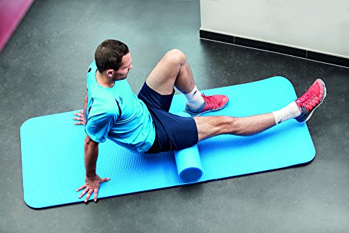 Pilates Rolle, blau, 90cm x 15cm