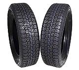 MASSFX ST205/75D15 Bias 6 Ply Trailer Tire Set of 2 Tires 205/75-15