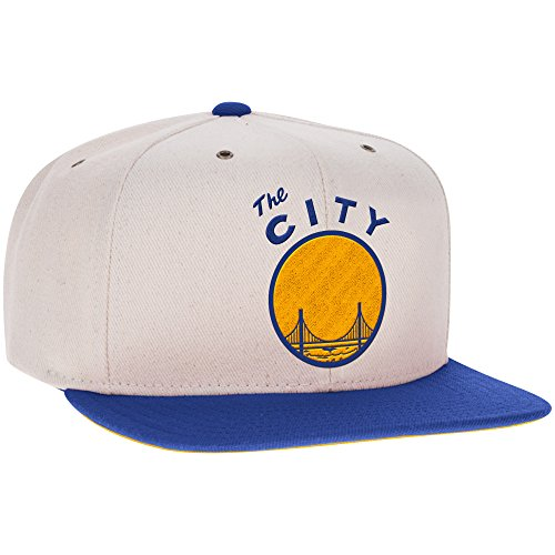 NBA Golden State Warriors Men's Hardwood Classic Puddy Snapback Cap, One Size, Blue