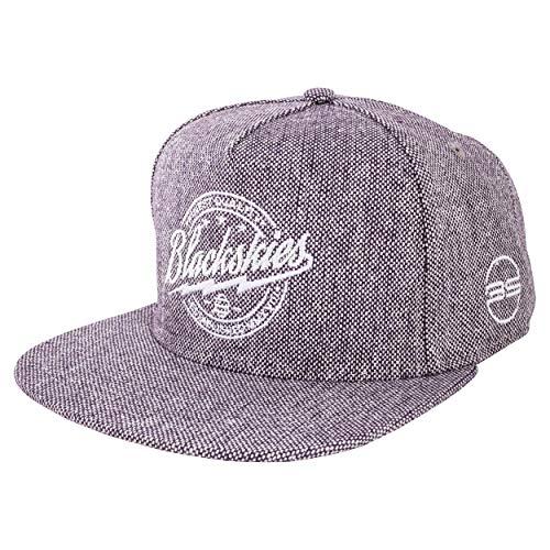 Blackskies Nebula Snapback Cap | Unisex Baseball Mütze Kappe Herren Damen Tweed Nebula
