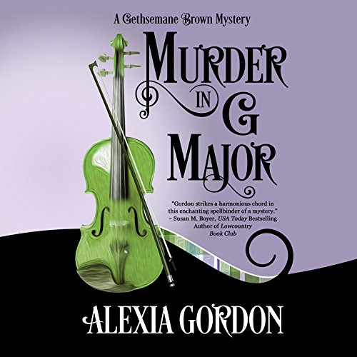 Murder in G Major audiobook cover art