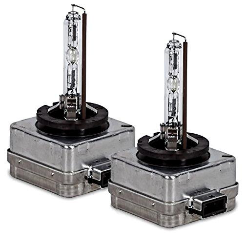 2x Original OSRAM D1S Xenarc Bombilla Original Faros de Xenón Luces de Coche Bombilla de Xenón 4100K 66144 - 35 Vatios AUTO Lámpara de Descarga BOMBILLA DUO Juego de 2 - Set Doble