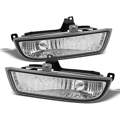 ACANII - For 1997-2002 Honda Prelude Clear Bumper Fog Lights Driving Lamps Assembly Driver & Passenger Side
