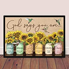 """Poster Size: Width x Height (Inch x Inch) 12 x 18 Click """"Customize Tab"""" to choose the other size (16"""" x 24""""). PRINTED IN USA - FRAME NOT INCLUDED-Illustration Purposes Only"""