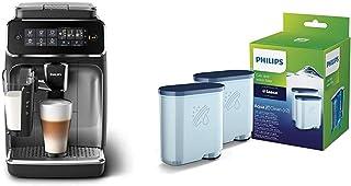 Philips EP3246/70 Machine à Café Automatique Expresso Séries 3200 LatteGo Argent & Philips Filtre à Eau et à calcaire CA69...