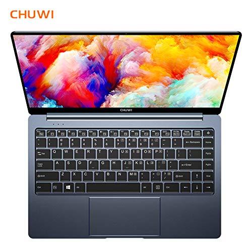 CHUWI LapBook Pro Computer Portatile, PC Portatile per Ufficio e Giochi, Display FHD da 14.1 Pollici, CPU Quad-core Intel N4100 2.4GHz, 4GB DDR4 + 64GB di Memoria, Doppio WiFi, Batteria 37.24Wh