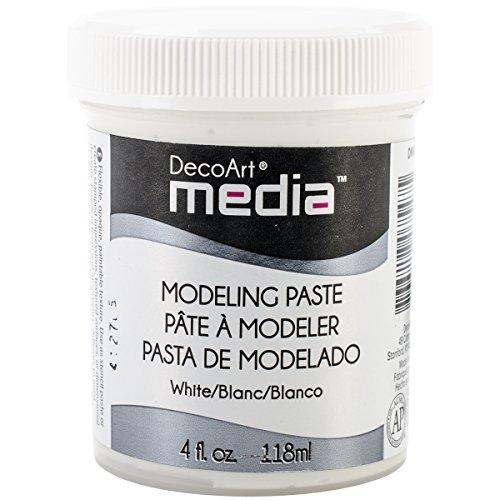 Deco Art Color Blanco–Media Pasta de Modelado, acrílico, Multicolor