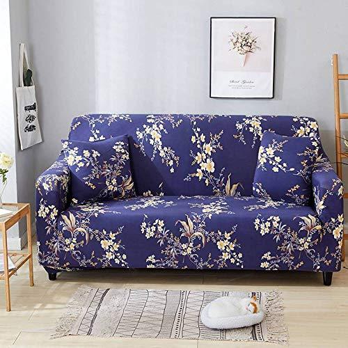 Cubierta para sofá con Cuerda de fijación,Funda de sofá con patrón impreso, funda de sofá elástica antideslizante, cojín de sofá universal para todas las estaciones, funda protectora de muebles de sa