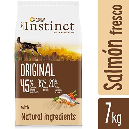 True Instinct Original - Nature's Variety - Pienso para Gato Esterilizado Adulto con Salmón y cebada - 7kg