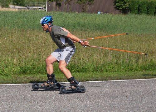 cross skating Schnupperkurs auf FLEET skates und skikes