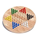 Best Chinese Checkers Game Sets - WE Games Solid Wood Chinese Checkers Board Game Review