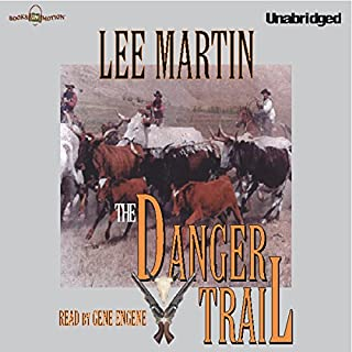 The Danger Trail audiobook cover art