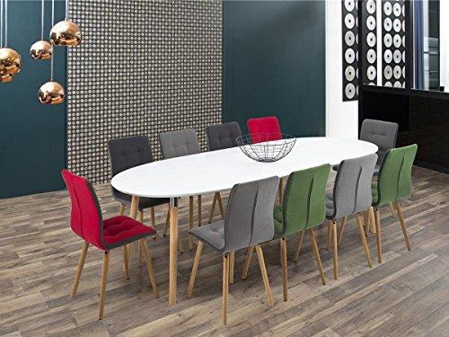 möbelando Esszimmertisch Tisch Esstisch Holztisch Küchentisch Esszimmer Becky I