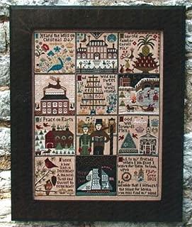 Christmas At Hawk Run Hollow Cross Stitch Chart and Free Embellishment