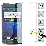 Guran® Protector de Pantalla Vidrio Cristal Templado Para ZTE Grand Memo (5.7pulgada) Smartphone Film