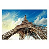 Scott397House Jigsaw Puzzles 1000 Pieces for Adults, Large Piece Puzzle Eiffel Tower Paris France Landmark CoolFun Game Toys Birthday Gifts Fit Together