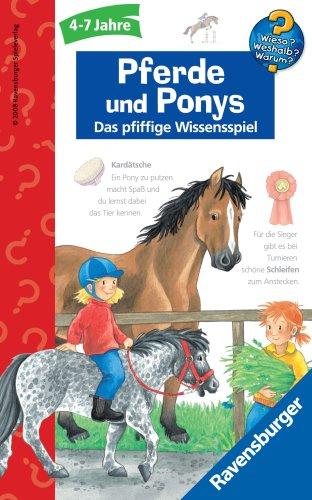 Ravensburger 23260 - Wieso? Weshalb? Warum? Pferde und Ponys - Mitbringspiel