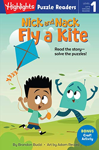 Nick and Nack Fly a Kite (Highlights Puzzle Readers) (English Edition)
