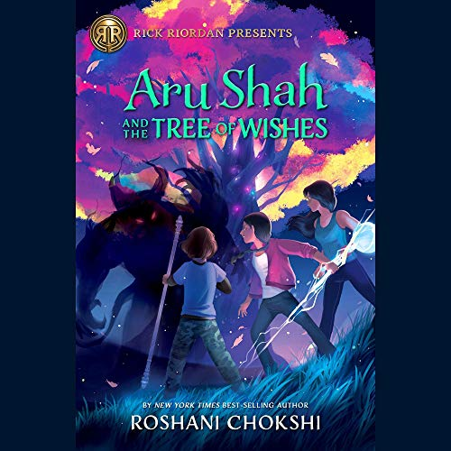 Aru Shah and the Tree of Wishes cover art