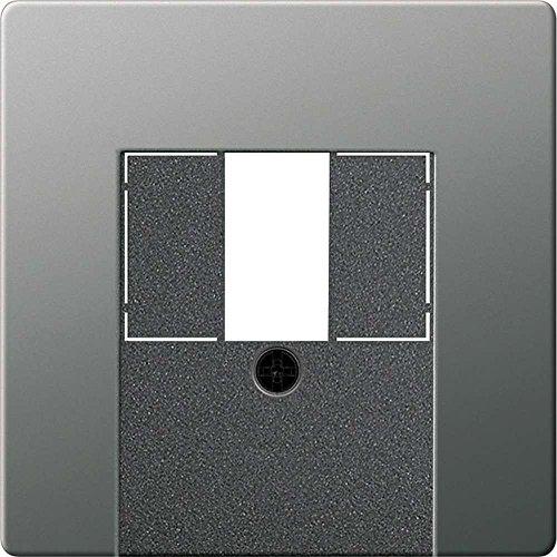 Gira 087620 Abdeckung TAE mit Stereo und USB Gira E22 Edelstahl