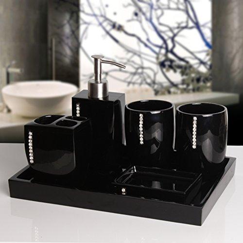 Manueller soap-dispenser,Harz Drücken sie die flasche seife,Seife flaschen Gel-duschkabine Shampoo box Set-I