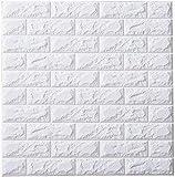 お得10枚セット ブリック タイル レンガ 壁紙シール 70cm×77cm ブリックステッカー 軽量レンガシール 壁紙シール アクセントクロス ウォールシール はがせる 壁シール