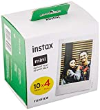 Instax 70100146437 Mini Film pack de 4 x 10 fotos (40 fotos)