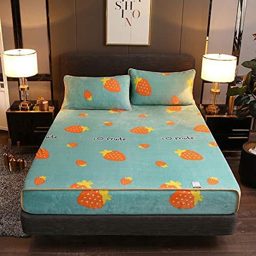 haiba Sábanas bajeras supersuaves, cálidas, cálidas, cálidas y cómodas, para cama de matrimonio, 150 x 200 cm + 48 x 74 cm, 2 unidades