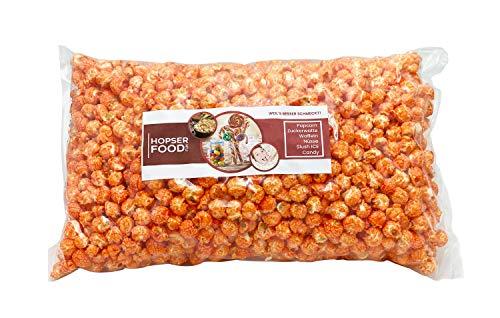 Süßes Mushroom Popcorn 1 kg in verschiedenen Varianten frisch Handgemacht in Brandenburger Popcorn Manufaktur (Orange Orange)