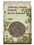 Semilla de lino integral 250g - Orgánica (Infinity Foods)