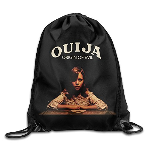 YuYfashions Ouija Origin of Evil Sport Backpack Drawstring Print Bag Beam Mouth Package A4986 Rucksack mit Kordelzug