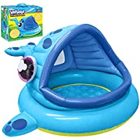 JOYIN Whale Baby Shade Beach Tent Kiddie Pool Play Tent
