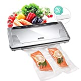 AICOK Vacuum Sealer Machine One-Button Automatic Vacuum Air Sealing System with 10 Bags