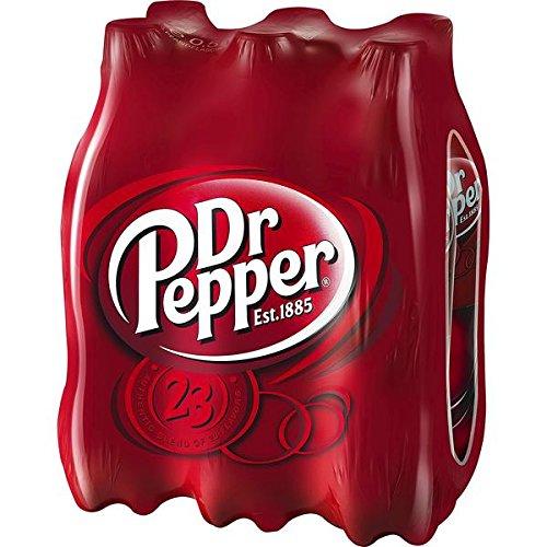6 Flaschen Dr Pepper Cola Limonade a 500ml 6er-Pack inc. 1.50€ Einwegpfand