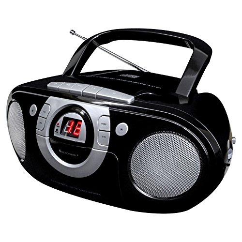 Soundmaster SCD5100SW Radio-Kassettenspieler mit CD-Spieler