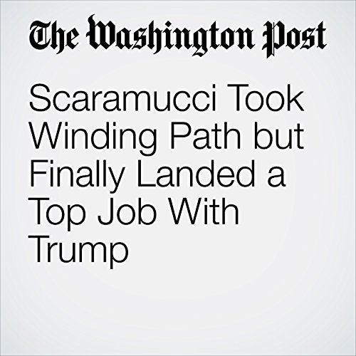 Scaramucci Took Winding Path but Finally Landed a Top Job With Trump copertina