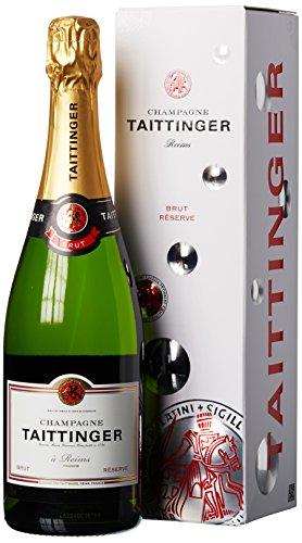 Taittinger Brut Reserve mit Geschenkverpackung, 0.75l