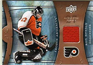 2009-10 Artifacts Frozen Artifacts Retail #FARRH Ron Hextall Game-Worn Jersey Card - Flyers
