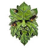 Top Collection Garden Acorn Greenman Hanging Plaque