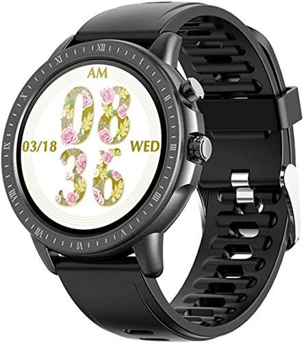 Reloj Inteligente 1.3 Pulgadas Pantalla Fitness Tracker Deportes Podómetro Pulsera Mensaje Push Recordatorio Inteligente IP67 Impermeable 180mAh-A
