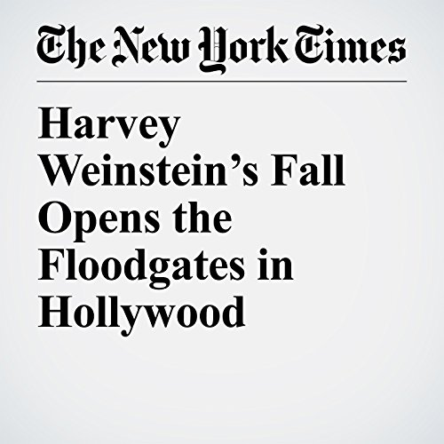 Harvey Weinstein's Fall Opens the Floodgates in Hollywood copertina