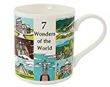 7 Wonders of the World - Educational China Mug in a Gift Box by The Leonardo Collection