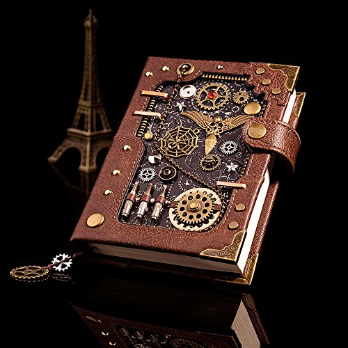 Steampunk Notebook Journal