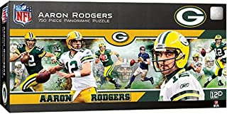MasterPieces NFL Green Bay Packers Jigsaw Puzzle, Aaron Rodgers, 750 Pieces