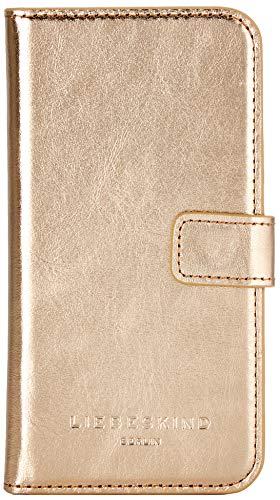 Liebeskind Berlin Glossy SLG Mobile Cap Flap Iphone7/8 Damen Handyhülle, 1x14x7 cm (B x H x T), Gold (Moonlight)