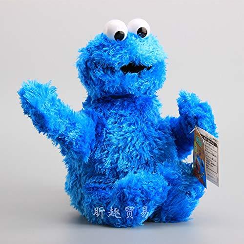 Atmny Plüsch Spielzeug Puppe Puppe Pp Baumwolle Junge Mädchen Geburtstagsgeschenk 30cm Cookie Monster