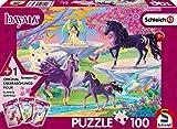 Schmidt Spiele 56396 Bayala - Puzzle Infantil de 100 Piezas, con Figura Original de Schleich