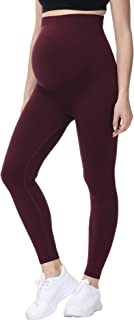 HOFISH Women's Ultra-Soft Thermal Bottom Underwear Stretchy Maternity Long Leggings Yoga Pants for Pregnancy