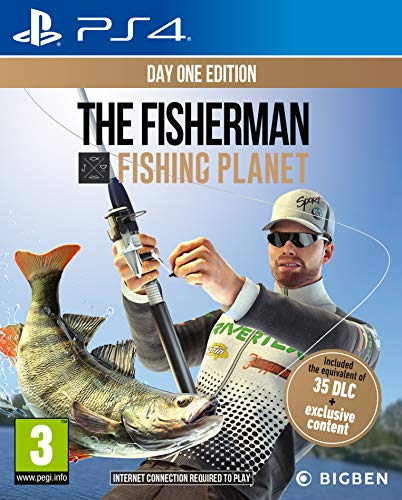 The Fisherman: Fishing Planet - PlayStation 4 - PlayStation 4 [Edizione: Regno Unito]