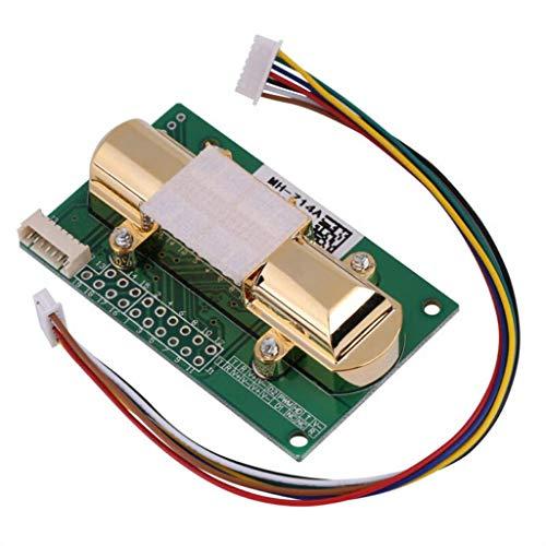 LaDicha MH-Z14A 二酸化炭素センサー-DC4-6V NDIR MH-Z14A二酸化炭素センサーCO2ガス誘導モジュール0-5000ppm センサーモジュール CO2センサー シリアルポート デジタル/アナログ/PWM出力 二酸化炭素を検出